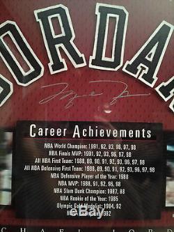 Michael Jordan Auto Career Achievements UDA