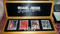 Michael Jordan Autograph Auto Signature Series Exquisite Mj Card Set Uda 97/1000