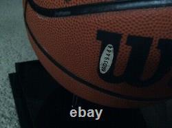 Michael Jordan Autographed Basketball UDA COA with Case OWN HISTORY