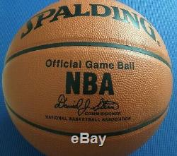 Michael Jordan Autographed UDA Pro NBA Spaulding Basketball