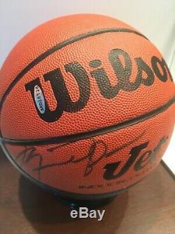 Michael Jordan Autographed Warner Bros Space Jam Basketball UDA COA 14/23