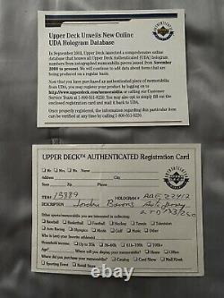 Michael Jordan Birmingham Barons Upper Deck UDA Autographed Auto Baseball Jersey
