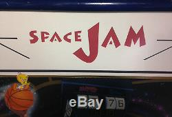Michael Jordan Bulls Signed Space Jam serigraph poster auto LE/100 UDA COA kent