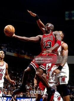 Michael Jordan Chicago BULLS 1997 PRO-CUT Autographed Jersey UDA