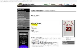 Michael Jordan Chicago Bulls Signed Wht 1997-98 Mitchell & Ness Jersey UDA COA