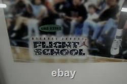Michael Jordan Hand Signed USA Photo 8x10 Custom Framed UDA Signed Flight School