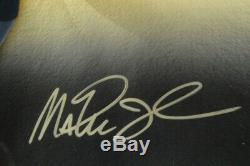 Michael Jordan Larry Bird Magic Johnson Auto 18x44 Legends of Basketball UDA