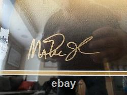 Michael Jordan, Magic Johnson, Larry Bird Signed Upper Deck UDA LE 407/500