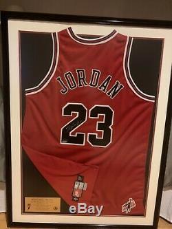 Michael Jordan Mr. June signed jersey UDA Upper Deck framed