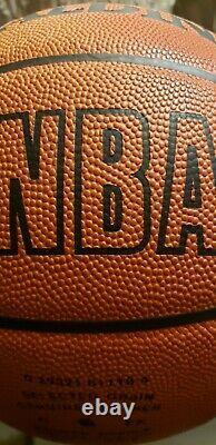 Michael Jordan NBA leather Autographed Basketball UDA upperdeck upper deck