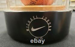 Michael Jordan Nike Auto Signed Baseball Leather Basketball UDA Authentic #/1000
