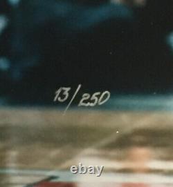 Michael Jordan Penny Hardaway Signed 16x20 Photo framed Mint 2 Auto UDA COA /250
