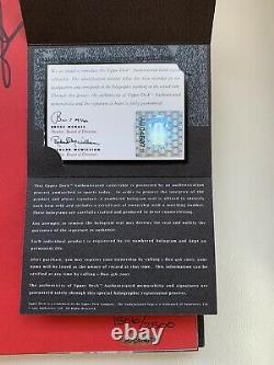 Michael Jordan Rare Air Autographed Book Upper Deck Authenticated UDA