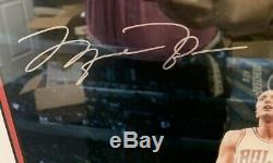 Michael Jordan Signed 16x20 UDA Photo RARE Jumpman #39/300 Autograph Upper Deck