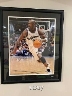 Michael Jordan Signed AUTO UDA Upper Deck 16x20 Wizards Bulls Photo LE 51/230