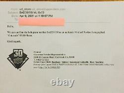 Michael Jordan Signed Autograph 8x10 Gatorade Slam Dunk Photo Upper Deck UDA