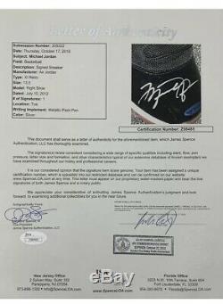 Michael Jordan Signed Autographed AIR Jordan 11's Bred Shoes Size 13.5 UDA JSA