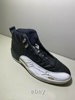 Michael Jordan Signed Autographed Air Jordan 12 Shoe Size 13 UDA 1997 Finals XII