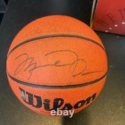 Michael Jordan Signed Autographed Basketball UDA Upper Deck & JSA COA With Box