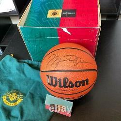 Michael Jordan Signed Autographed Basketball With UDA Upper Deck COA & Box