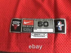 Michael Jordan Signed Autographed Red Nike Jersey 1997-98 Bulls UDA Last Dance