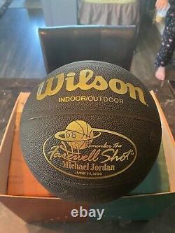 Michael Jordan Signed Basketball UDA SUPER RARE