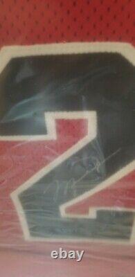 Michael Jordan Signed Framed Jersey UDA Bulls Mr June Jersey