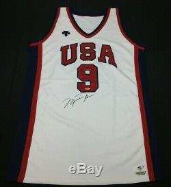 Michael Jordan Signed OlympicsTeam USA Basketball Jersey UDA/PSA