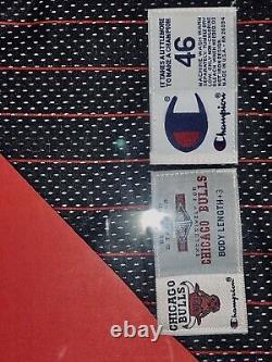 Michael Jordan Signed Rare Jersey. UDA#BAF97930. Upper Deck Nike 98-99