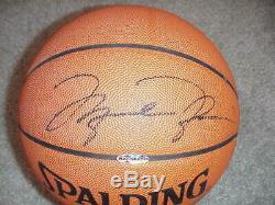 Michael Jordan Signed Spalding Basketball UDA Upper Deck COA