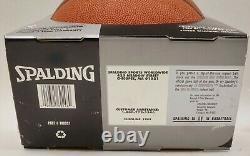 Michael Jordan Signed Spalding NBA Basketball UDA Upper Deck Authenticated COA