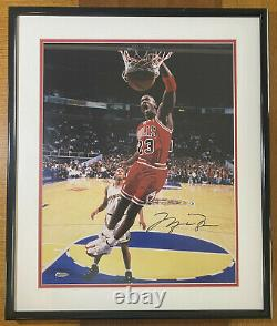 Michael Jordan Signed Uda Upper Deck 16x20 Photo Lefty Slam 176/300 Autograph