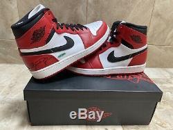 Michael Jordan UDA Autograph Auto Jordan Retro 1 Shoes Size 10! MUST SEE