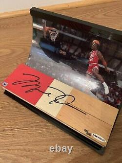 Michael Jordan UDA Autograph Game Floor ONLY 5 3 Color Pieces Made AUTO signed