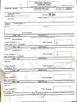Michael Jordan UDA Autographed Jersey Rare Rookie Jersey Upper Deck COA