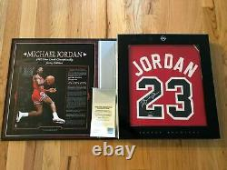 Michael Jordan UDA Upper Deck Signed Autograph 86/87 Jersey Archive 149/230 BOX