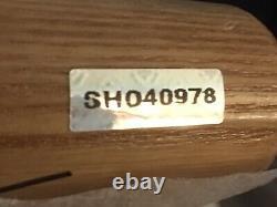 Michael Jordan UDA signed baseball bat 1/1 hologram auto autograph BONUS GU CARD