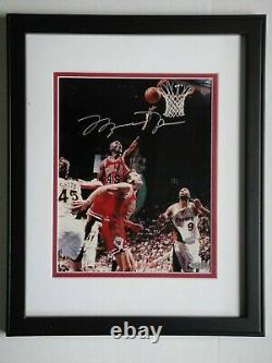 Michael Jordan Uda Upper Deck Authenticated Signed 8x10 Autograph Photo #45