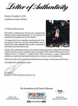 Michael Jordan Uda Upper Deck Authenticated Signed 8x10 Autograph Photo Auto