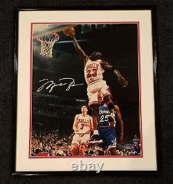 Michael Jordan Uda Upper Deck Signed 16x20 Photograph Autograph #225/300 Framed