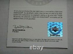 Michael Jordan Uda Upper Deck Signed 16x20 Photograph Autograph 237/300 Bulls