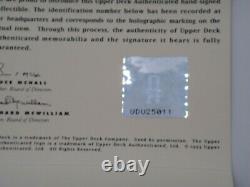 Michael Jordan Uda Upper Deck Signed 16x20 Photograph Autograph Bulls Auto