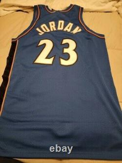 Michael jordan Autographed/signed Wizards Jersey LE /275 Uda & Beckett Coa