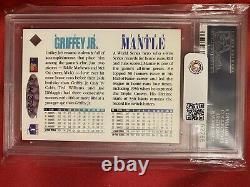 Mickey Mantle Ken Griffey Jr. Dual Signed 1994 Upper Deck Uda Card Psa/dna Auto