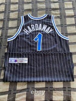 Penny Hardaway Orlando Magic NBA Jersey UDA Auto Signed Upper Deck Autographed
