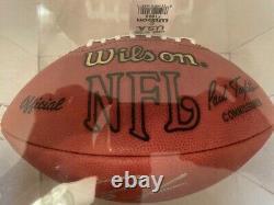 Peyton Manning Autograph Signed Wilson Football UDA Superbowl Champ HOF COLTS