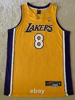Pro Cut Autographed Kobe Bryant NBA Authentic jersey. UDA COA. Beautiful Sig
