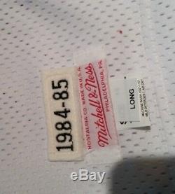 RARE! Charles Barkley signed UDA 76ers Upper Deck LE 1/16 STAT Framed jersey