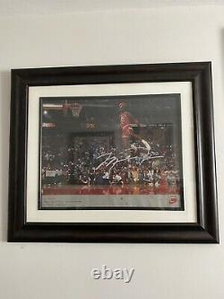 RARE Vintage MJ Michael Jordan Signed Poster Original UDA Upper Deck AUTO Nike