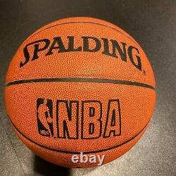 RARE Wilt Chamberlain UDA Signed Spalding NBA Game Basketball Upper Deck COA